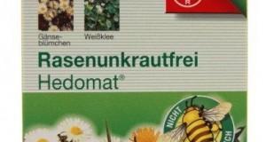 Bayer Rasenunkrautfrei Hedomat Test