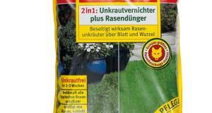 Wolf-Garten Unkrautvernichter plus Rasendünger Test