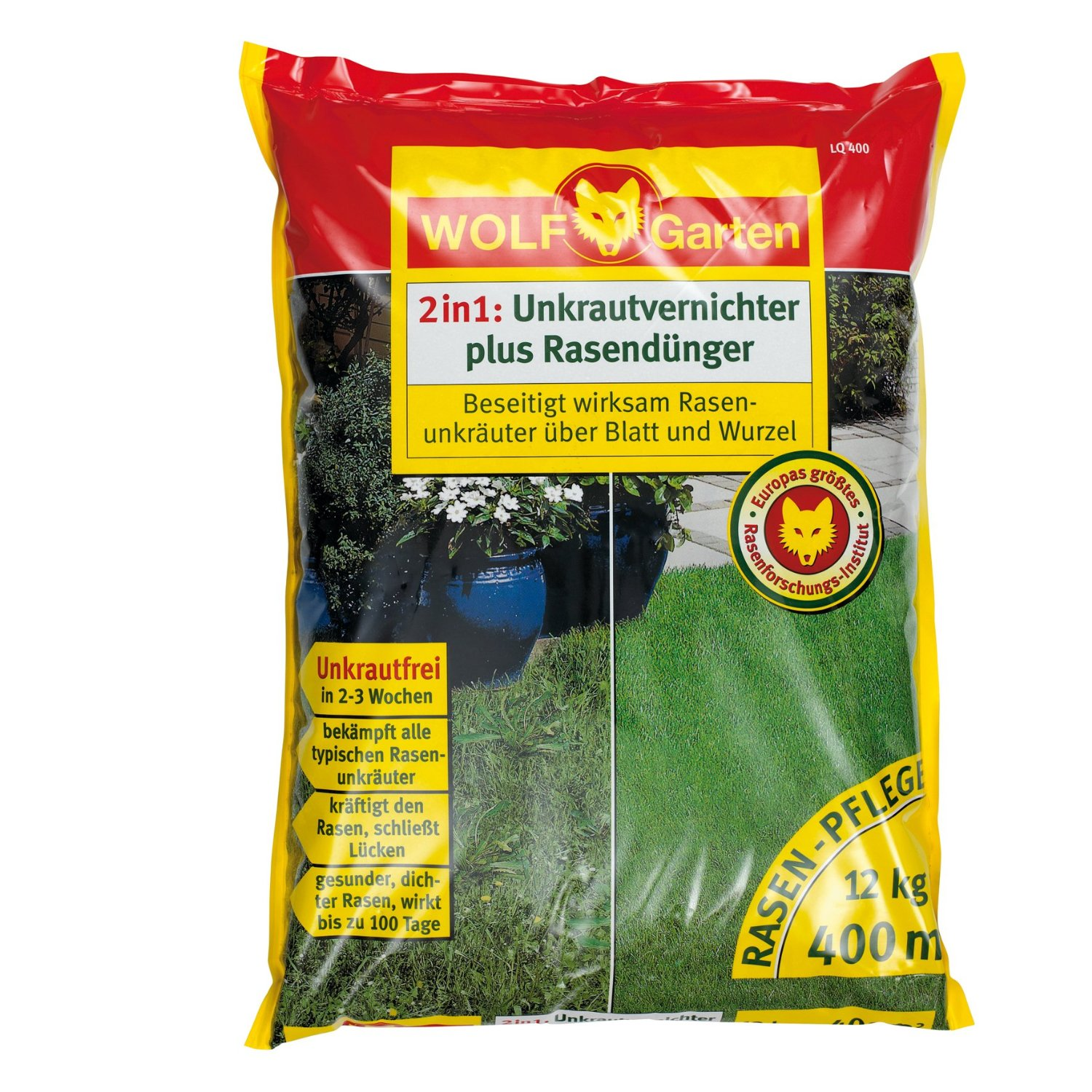 Photo of Wolf-Garten Unkrautvernichter plus Rasendünger Test