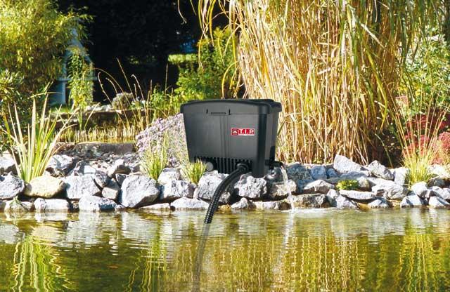 Gartenteichfilter sind komplexe Filteranlagen für den Gartenteich