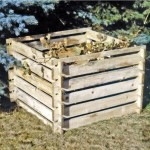 Steckkomposter Holz Kompostsilo Bausatz