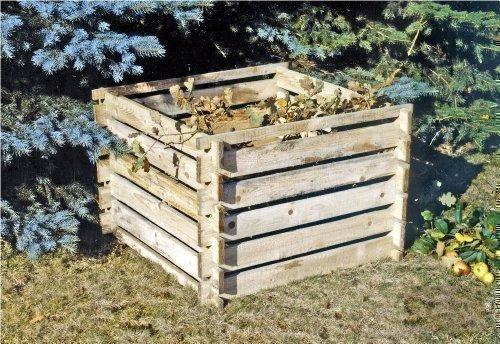 Holz Komposter Test Bausatz