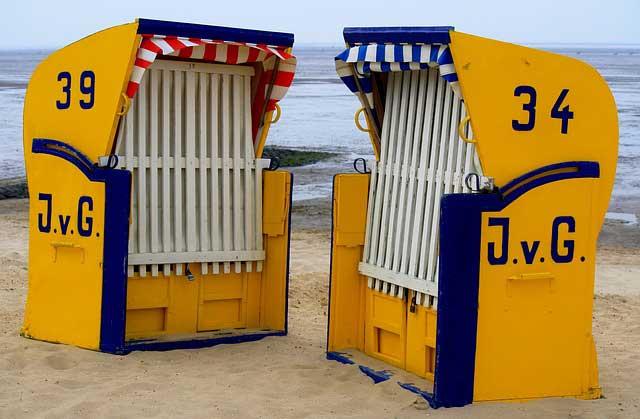Der Strandkorb - Urlauberinnerung für den eigenen Garten?